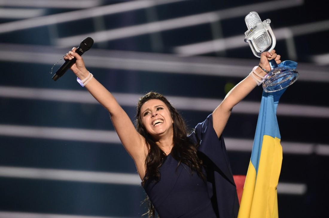 Финал Евровидения 2016: реакция Джамалы на победу