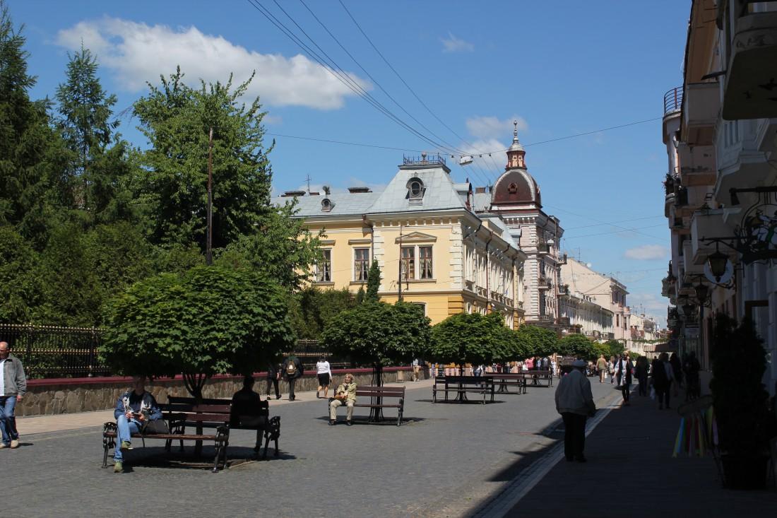 Черновцы - город, где проходили сьемки фильма Город влюбенных