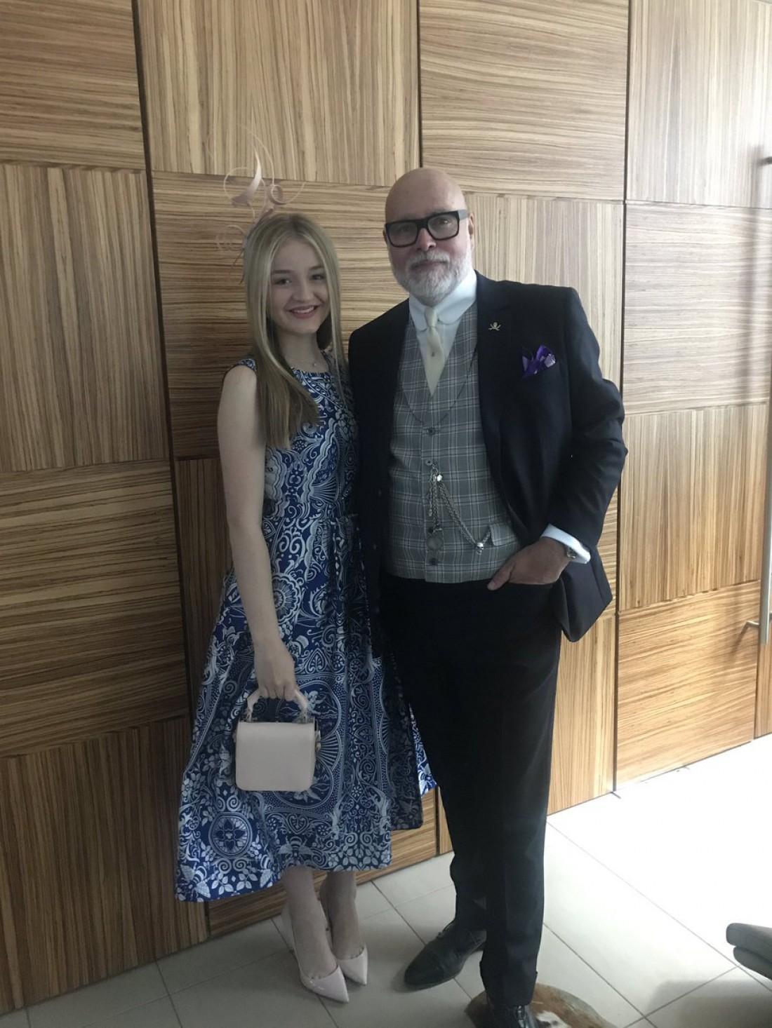 Гэри Голдсмит на свадьбе Пиппы Миддлтон