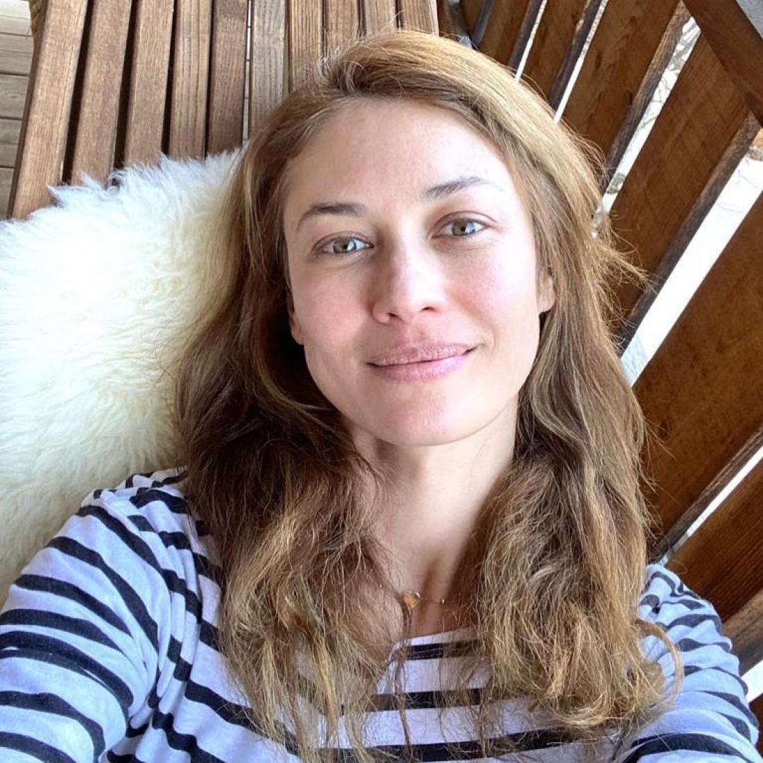 Ольга Куриленко показала лицо без макияжа