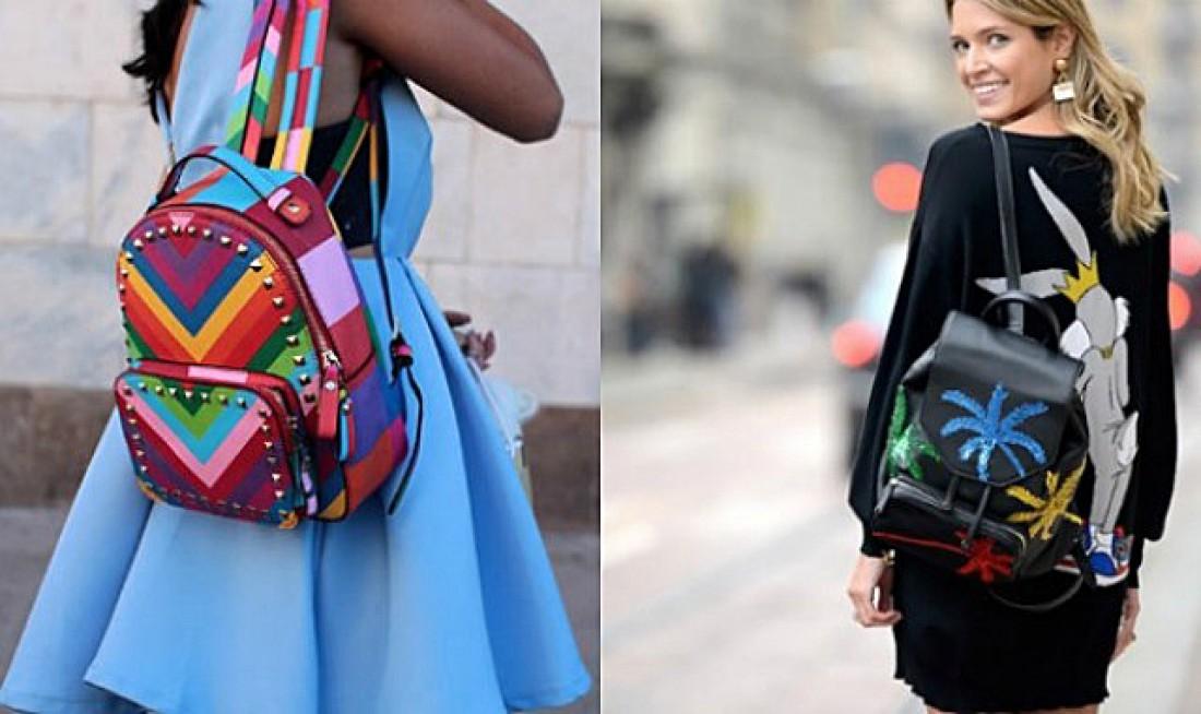Геть сумки: модні рюкзаки літа 2017