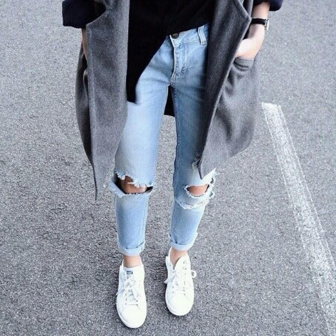 И зимой, и летом джинсы – незаменимый атрибут стиля