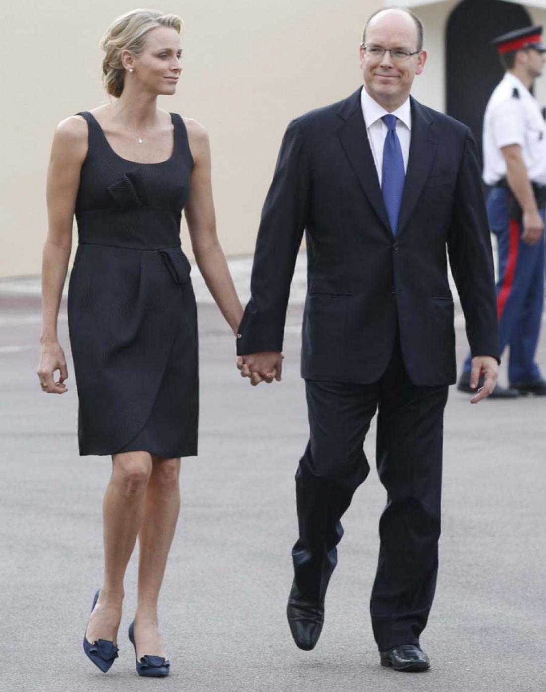 Князь Альберт ІІ и княгиня Шарлин