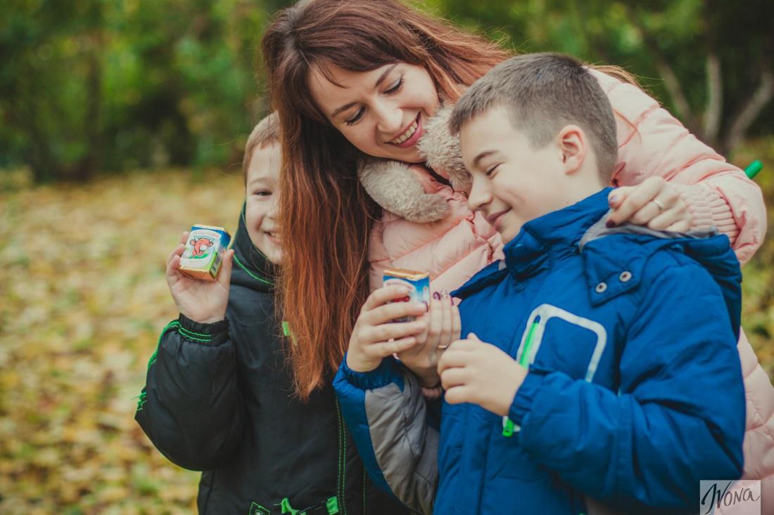 Семья Елены любит плавленые сырки
