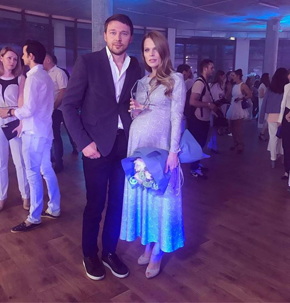 Ольга Фреймут с возлюбленным Владимиром Локотко