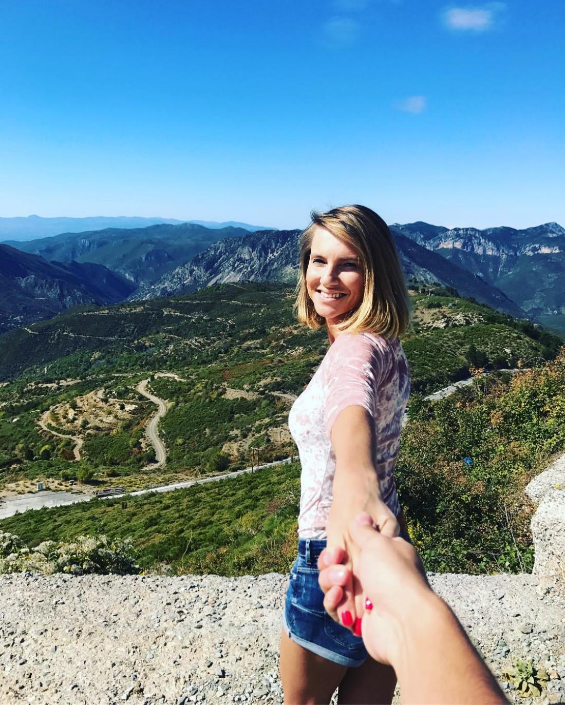 Александр Скичко и Елизавета Юрушева провели медовый месяц в Греции
