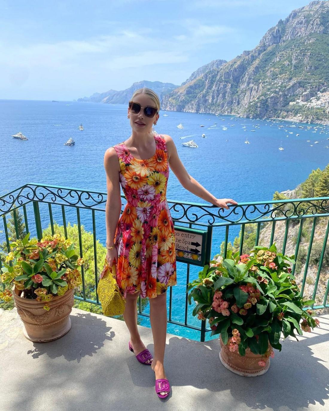 Племянница принцессы Дианы в Италии
