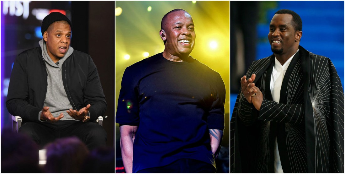 Джей Зи, Шон Комбс и Dr. Dre