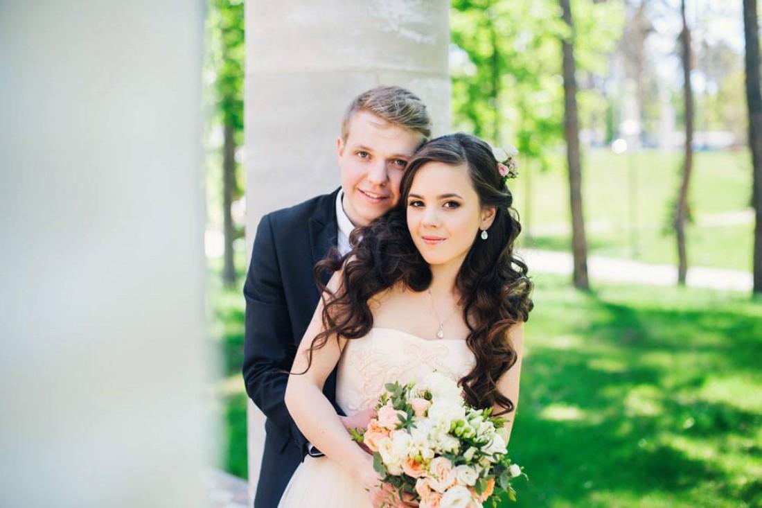 Богдан Олейник з дружиною
