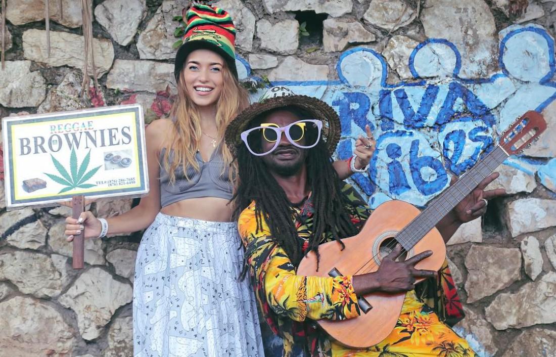 Тодоренко с ямайцем