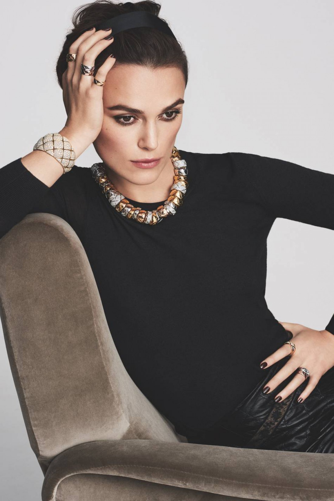 Кира Найтли украсила новый кампейн Chanel