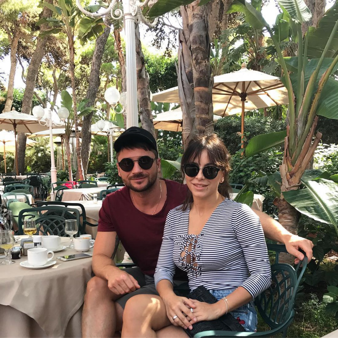 Ани Лорак и Сергей Лазарев на Сардинии