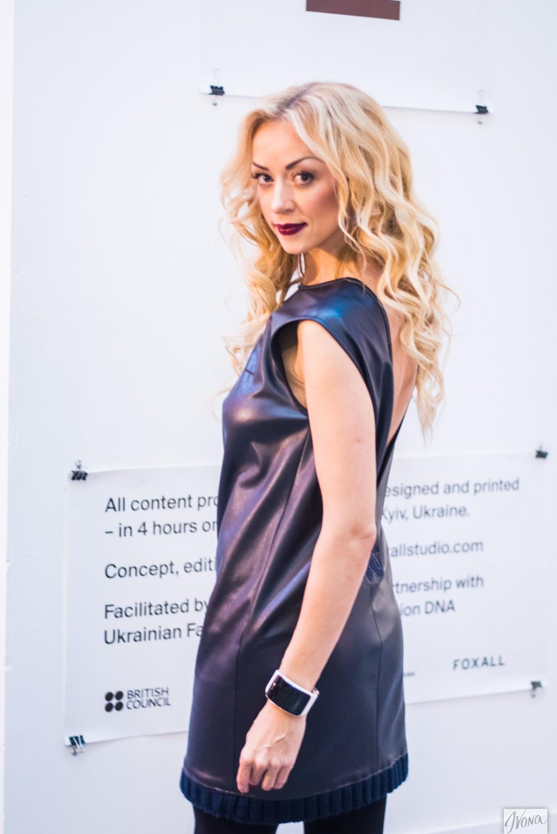 Наталья Валевская сотрудничает и с украинскими, и с российскими дизайнерами