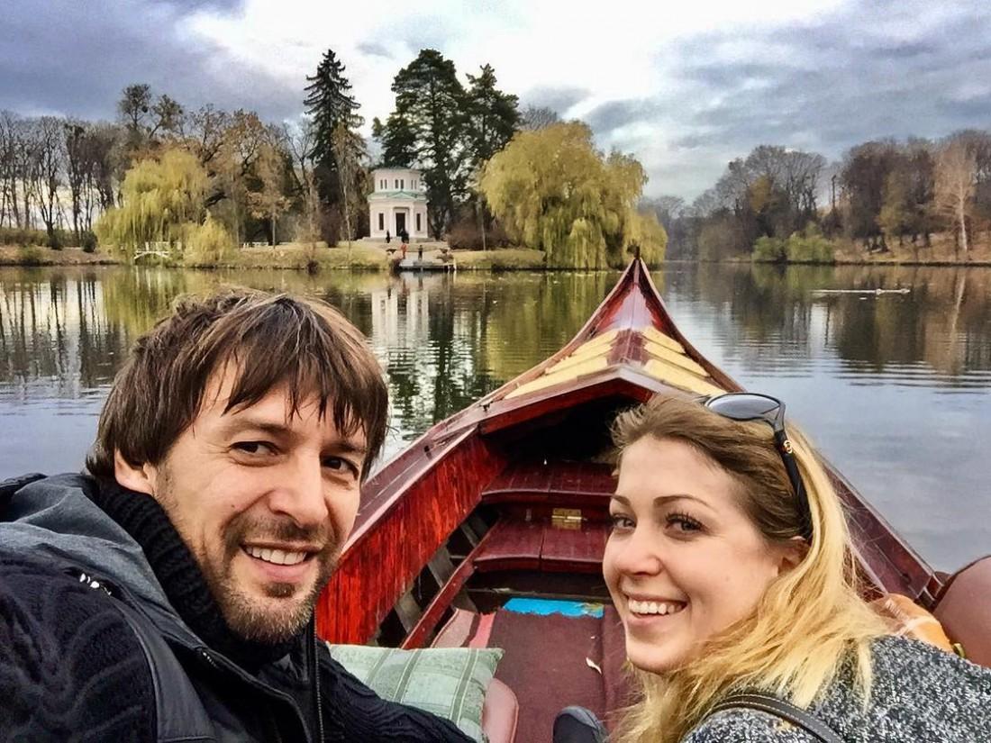 Александр Шовковский с Мариной Кутеповой