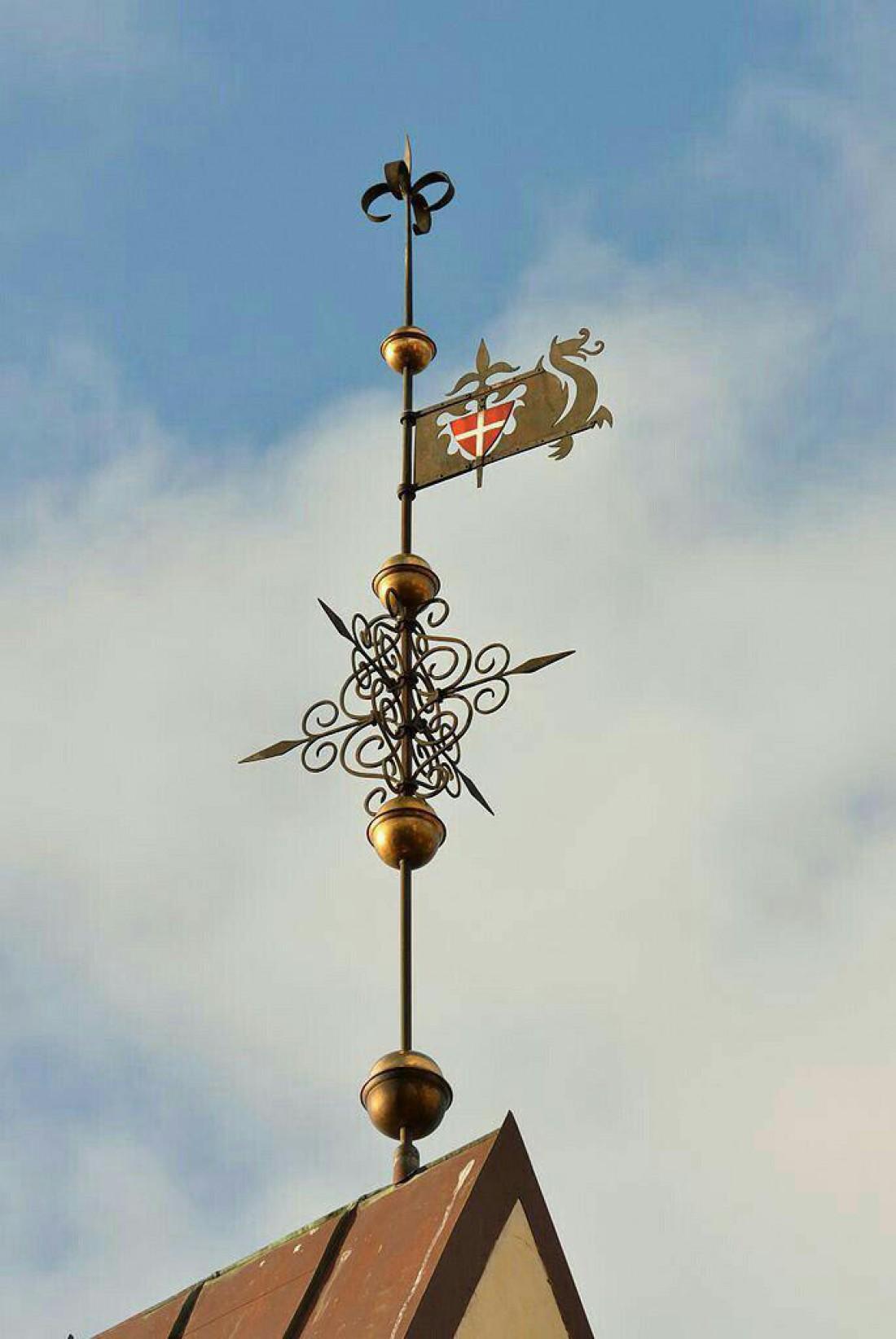 Флюгер Таллинской Ратуши Старый Томас