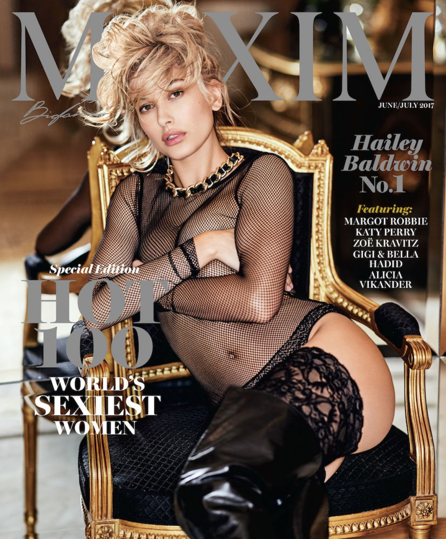 Хейли Болдуин для Maxim