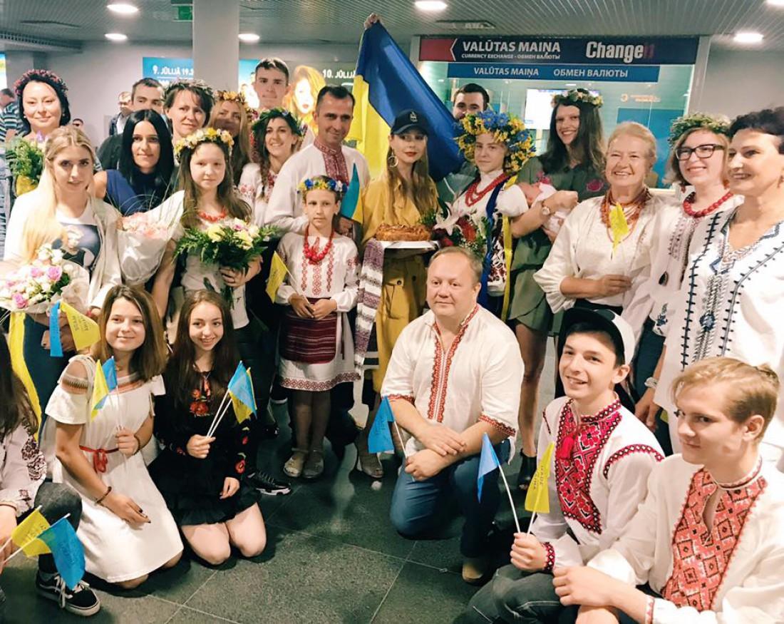 Тина Кароль в Латвии