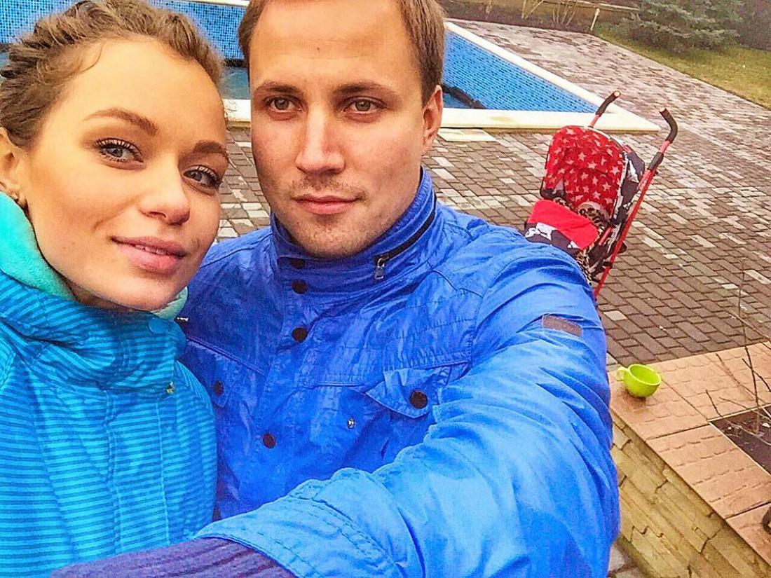 Яна с мужем