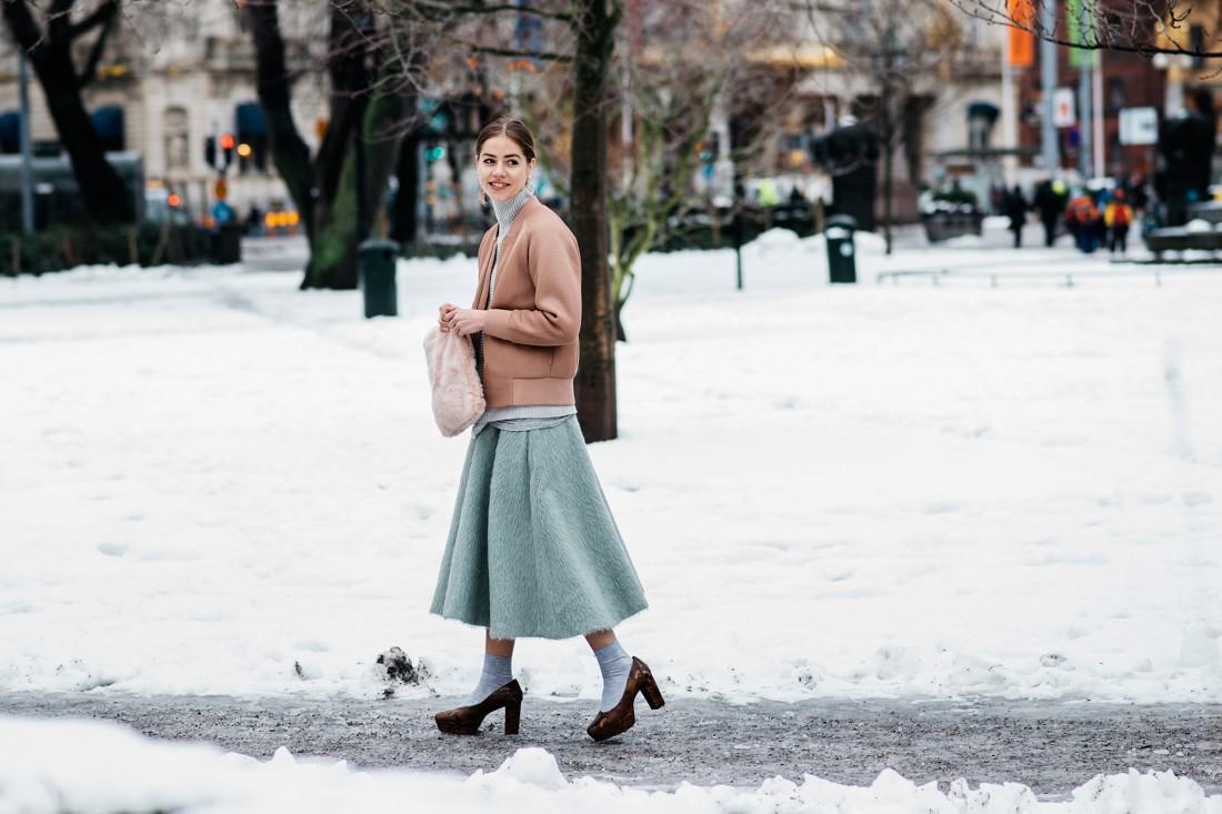 Яркие образы модниц в юбках