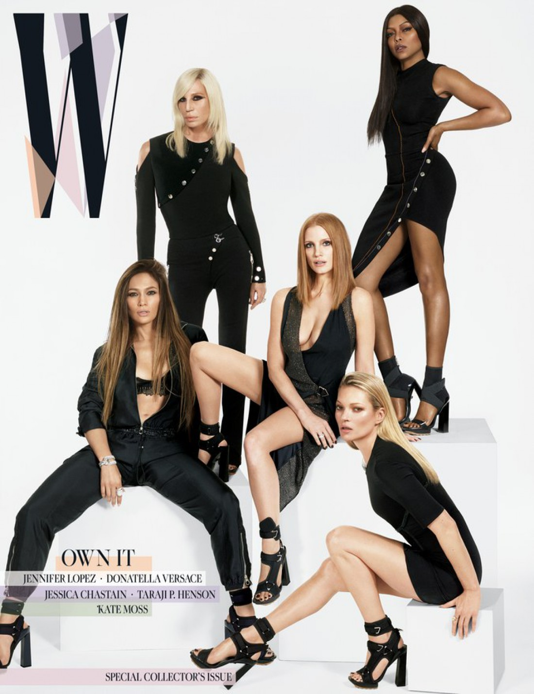 Певица на обложке журнала W magazine