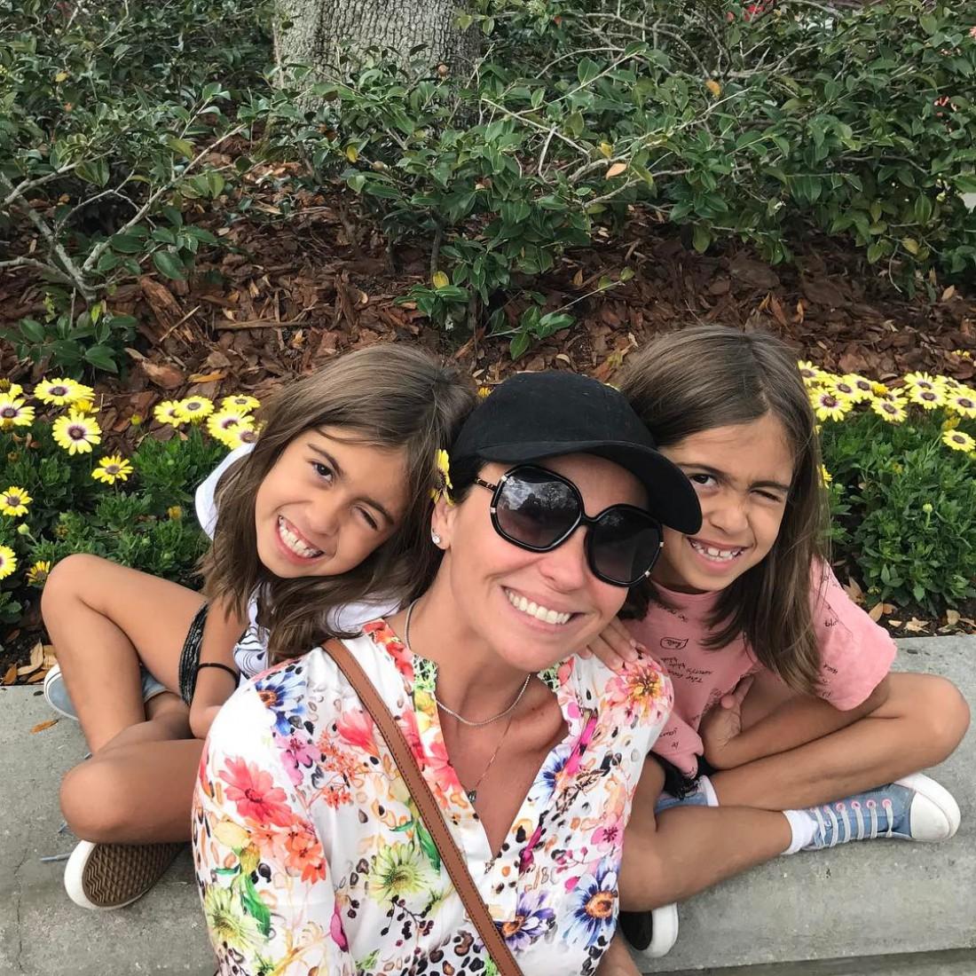 Джованна Антонелли с дочками