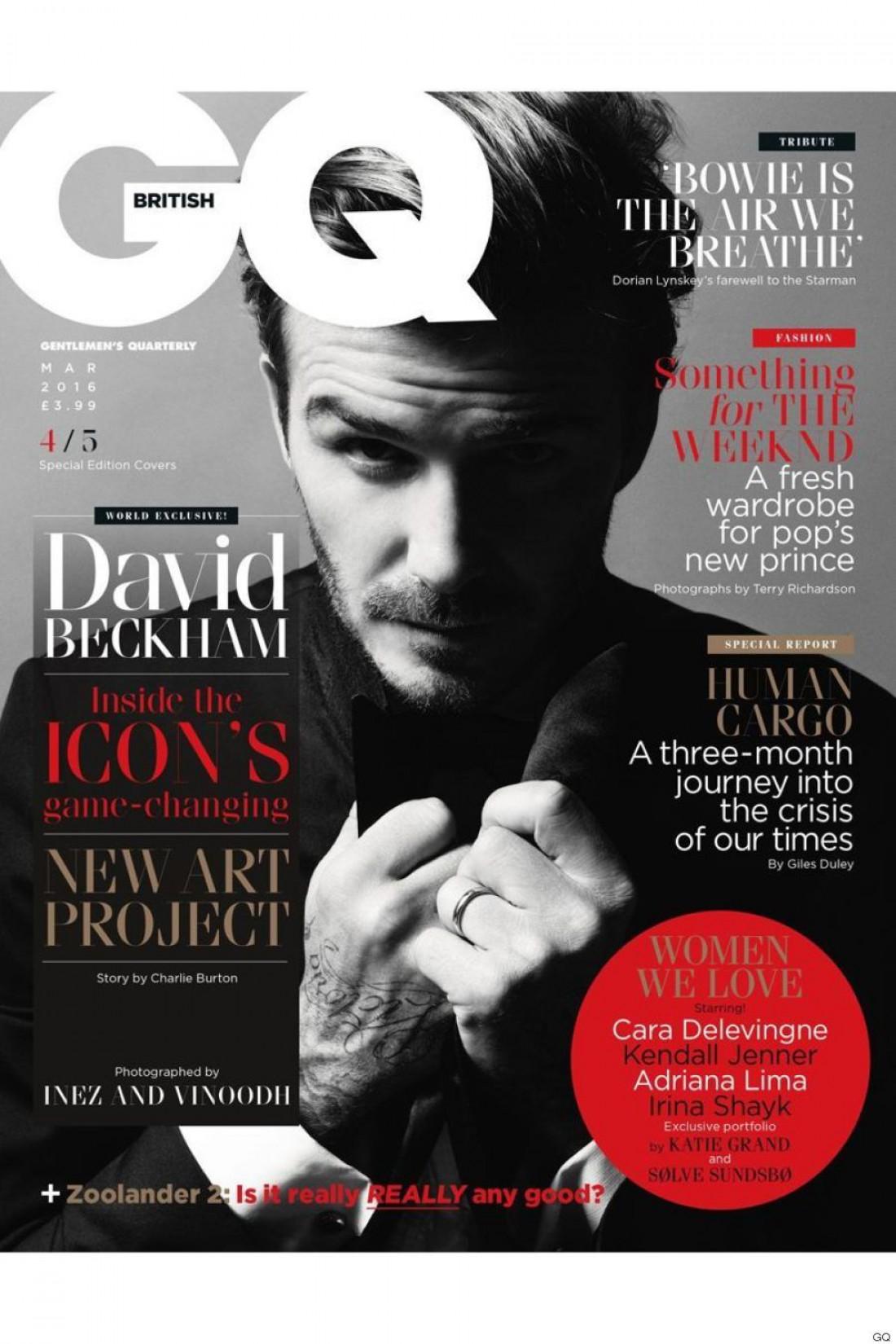 Дэвид Бекхэм для GQ
