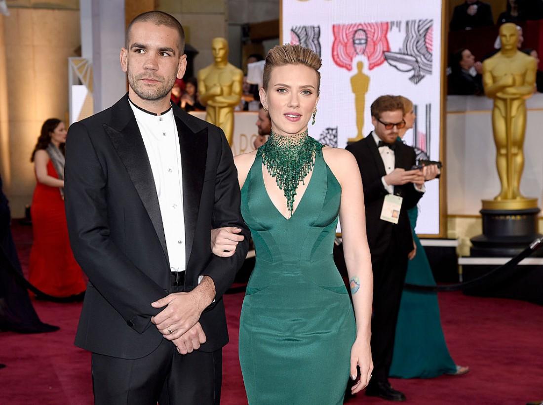 Скарлетт Йоханссон разводится с мужем