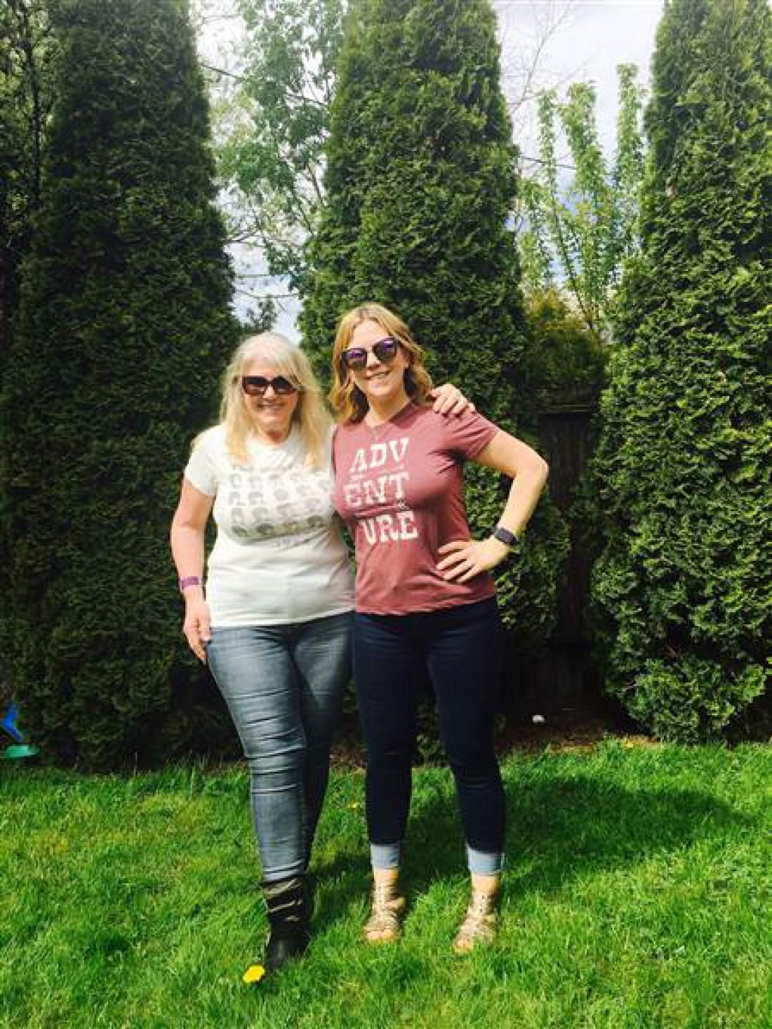 Диана и Дана сбросили 50 кг на двоих