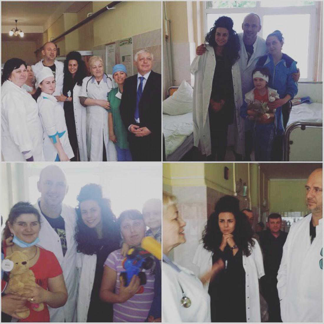 Потап и Настя в больнице