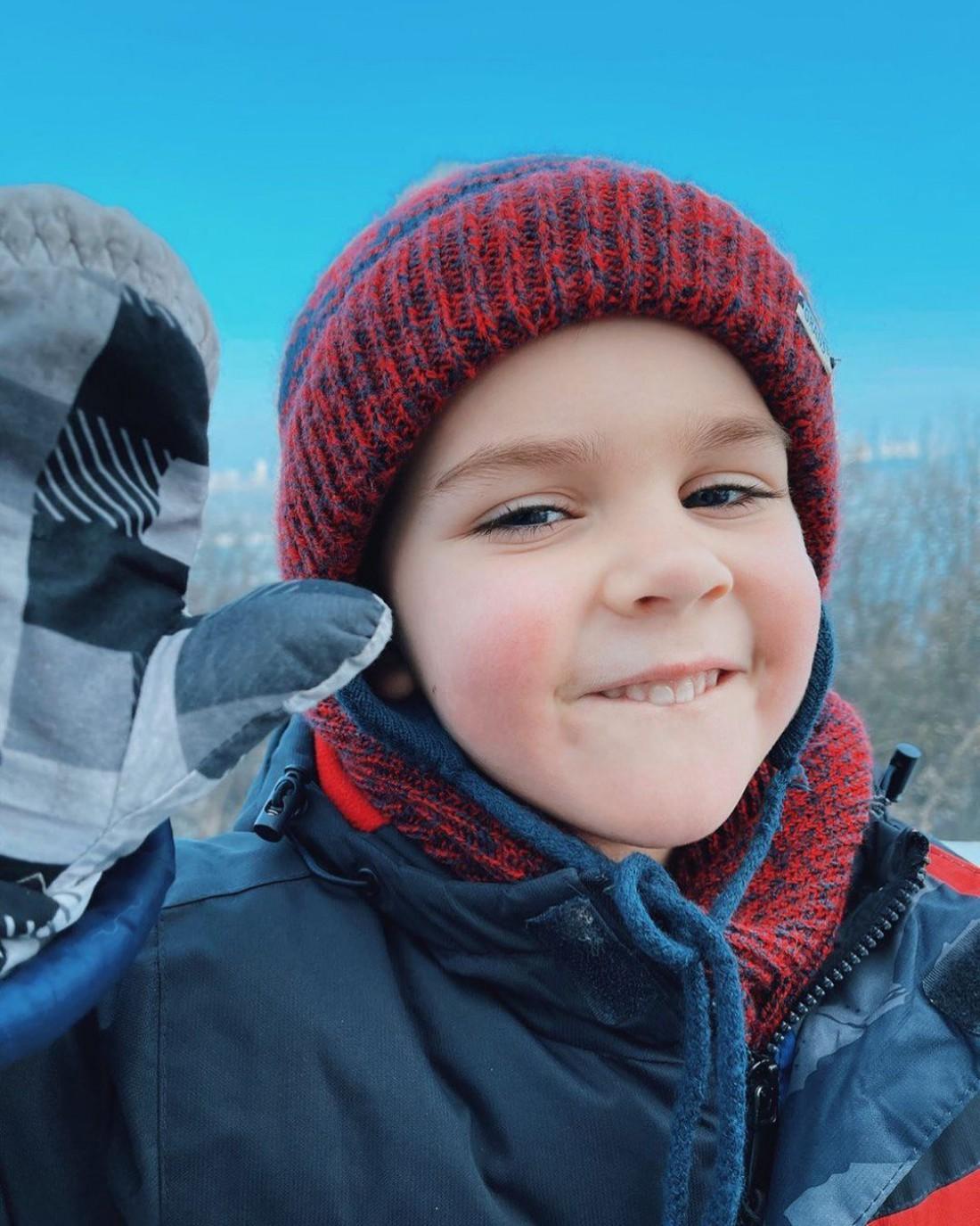 Юлия Санина показала 5-летнего сына