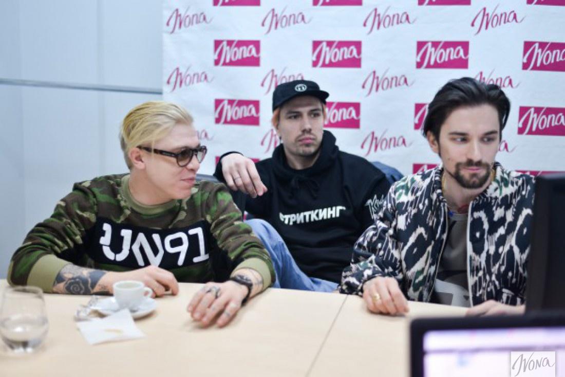 Участники группы Агонь: Костя Горюк, Константин Боровский и Антон Савлепов