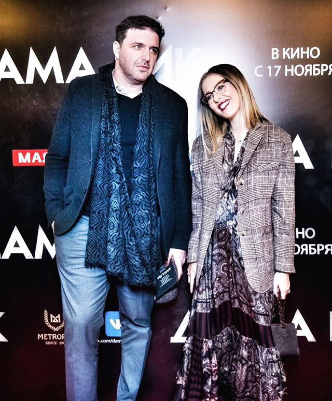 Ксения Собчак с мужем Виторганом