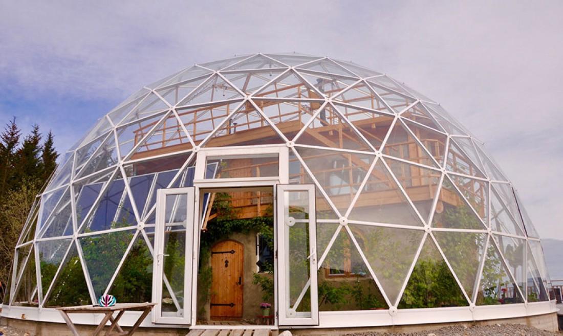 Дом под куполом в Норвегии
