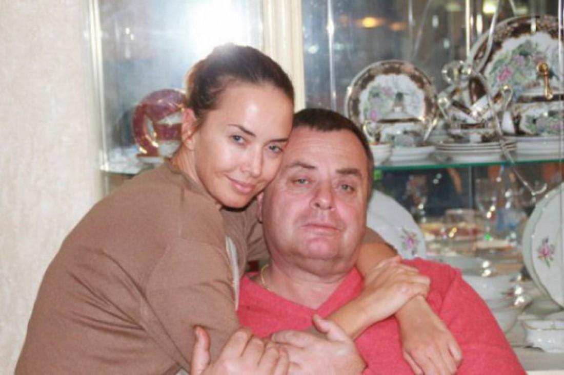 Жанна Фриске со своим отцом Владимиром