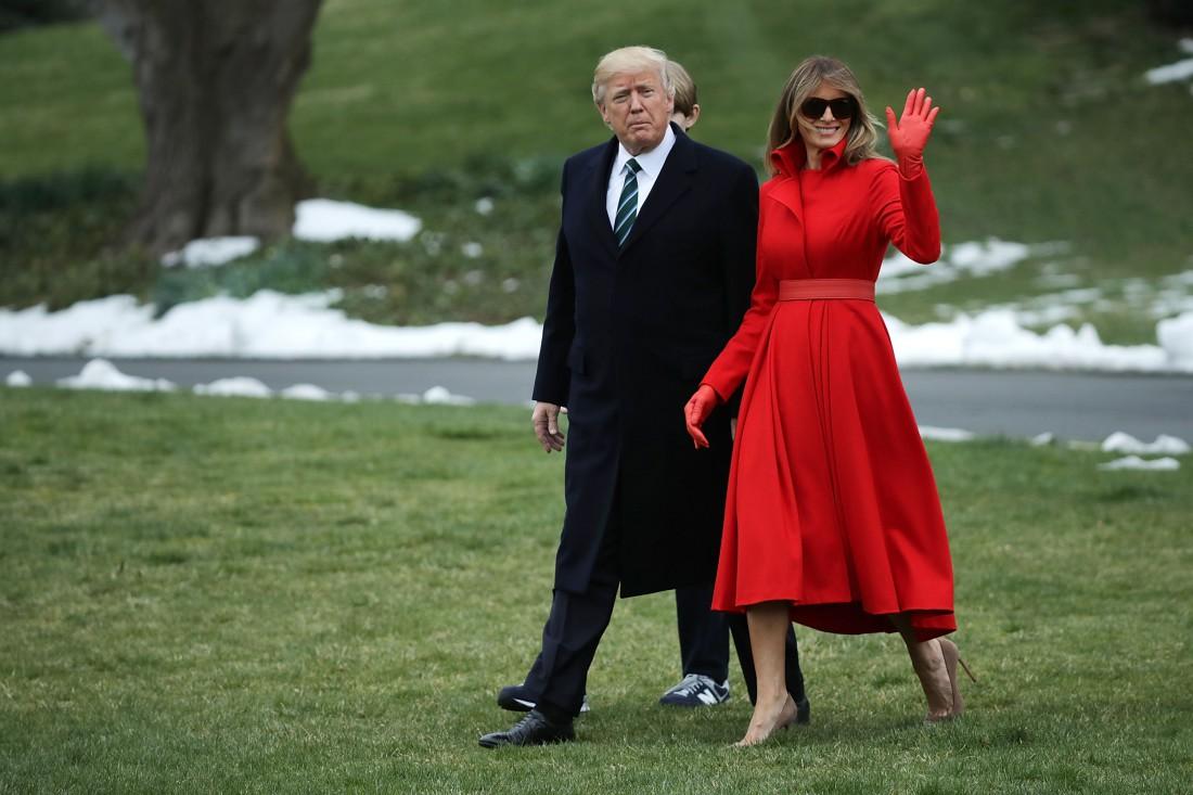 Дональл и Меланья Трамп