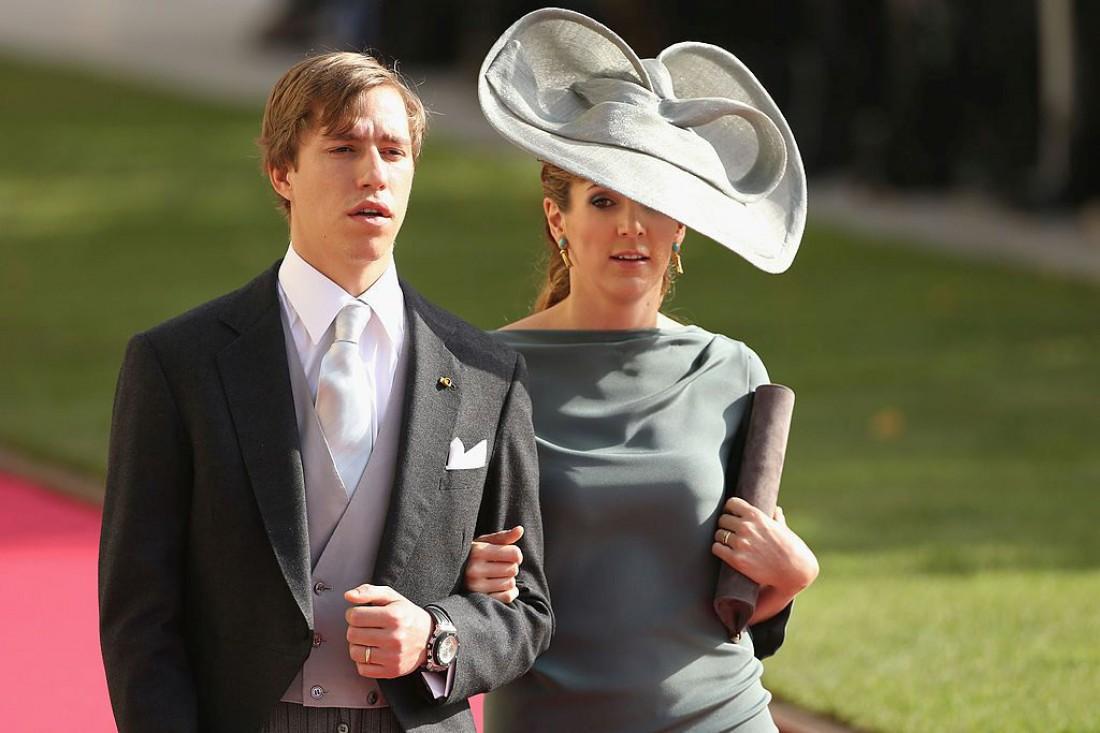Принц Луи и принцесса Тесси Люксембургские
