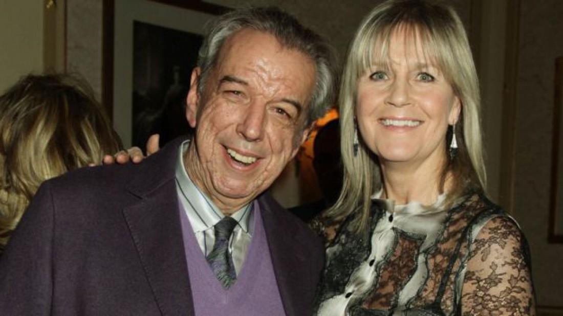 Род Темпертон со своей женой Кэти в 2012 году