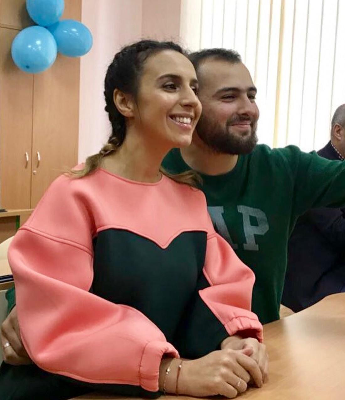 Джамала и с мужем Бекиром