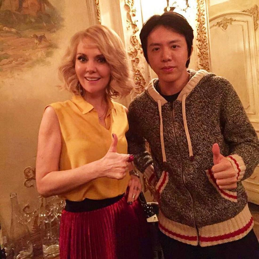 Валерия с пианистом Юнди Ли