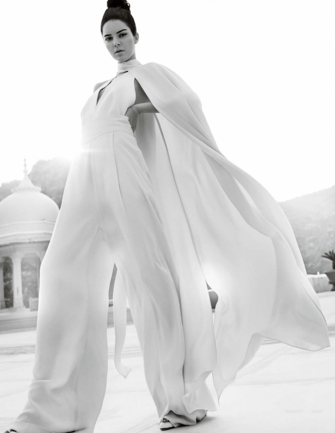Кендалл Дженнер на страницах Vogue India