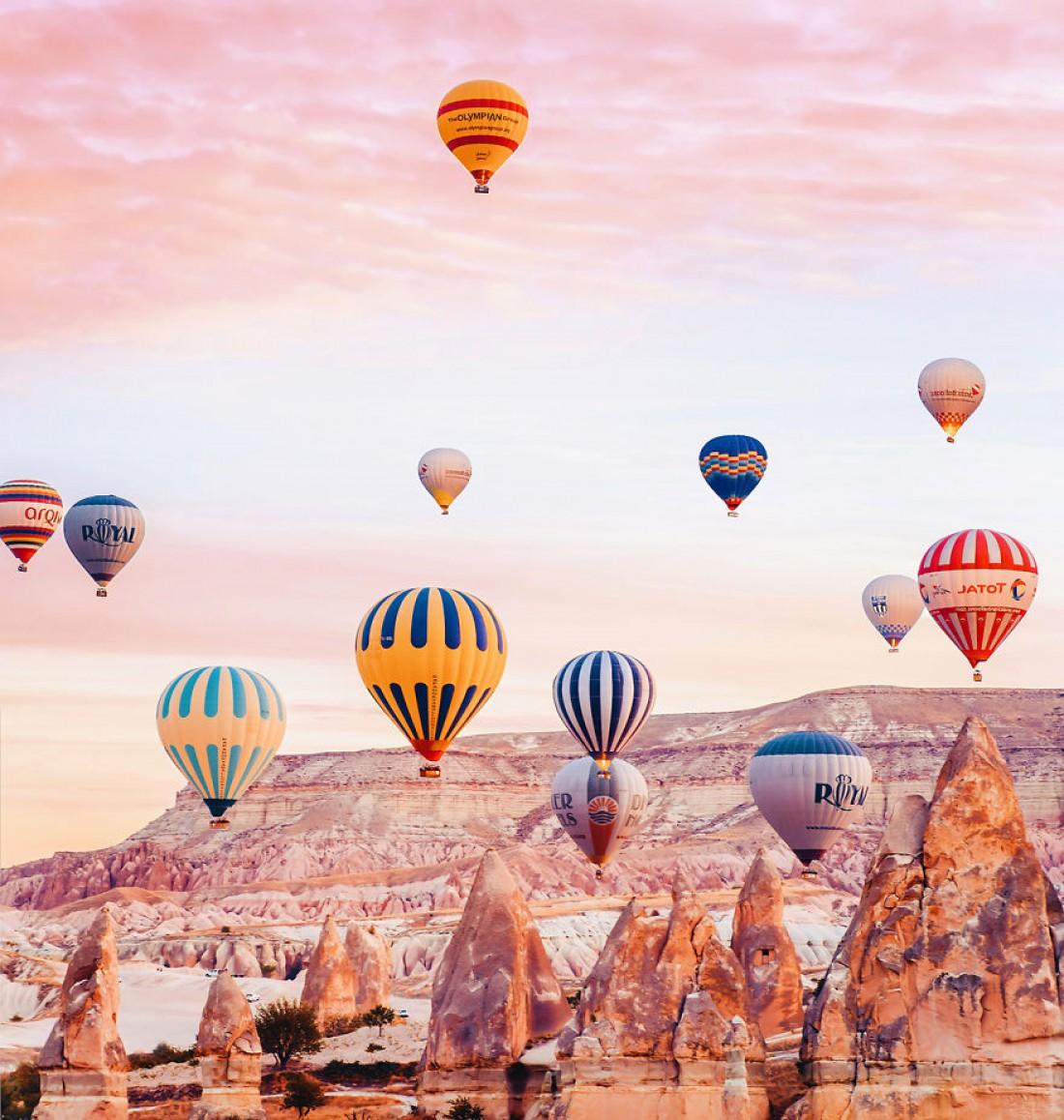 Каппадокия – это сказочный регион в Турции