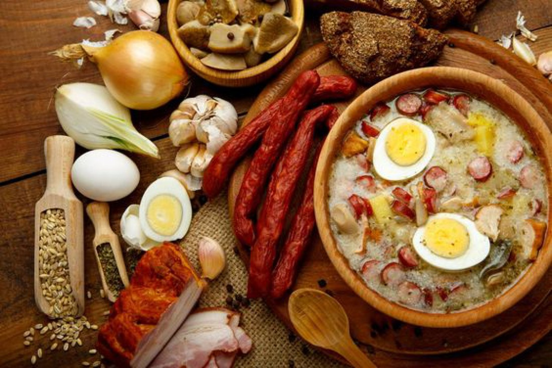 Что приготовить на католическую Пасху: Польский суп Журек