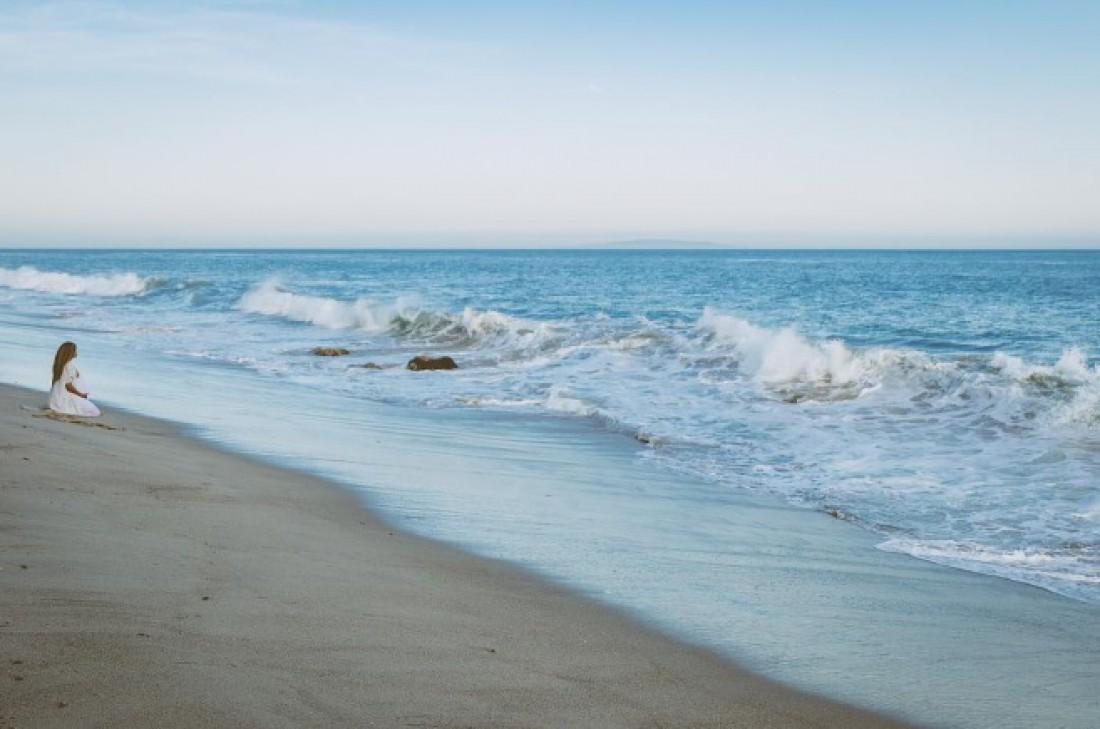 Сиара на берегу океана