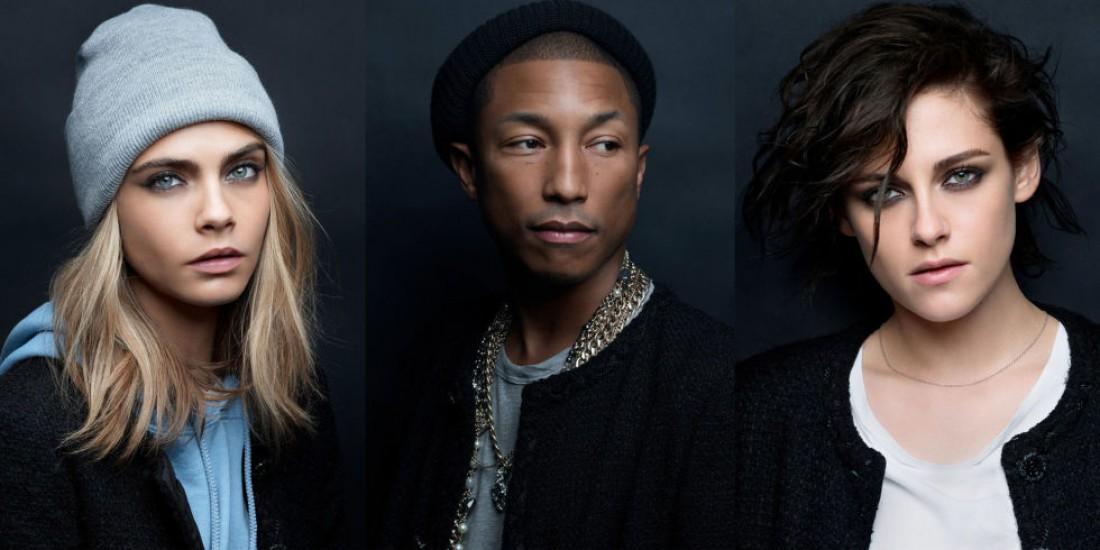 Кара Делевинь, Фаррелл Уилльямс и Кристен Стюарт стали частью кампейна Chanel
