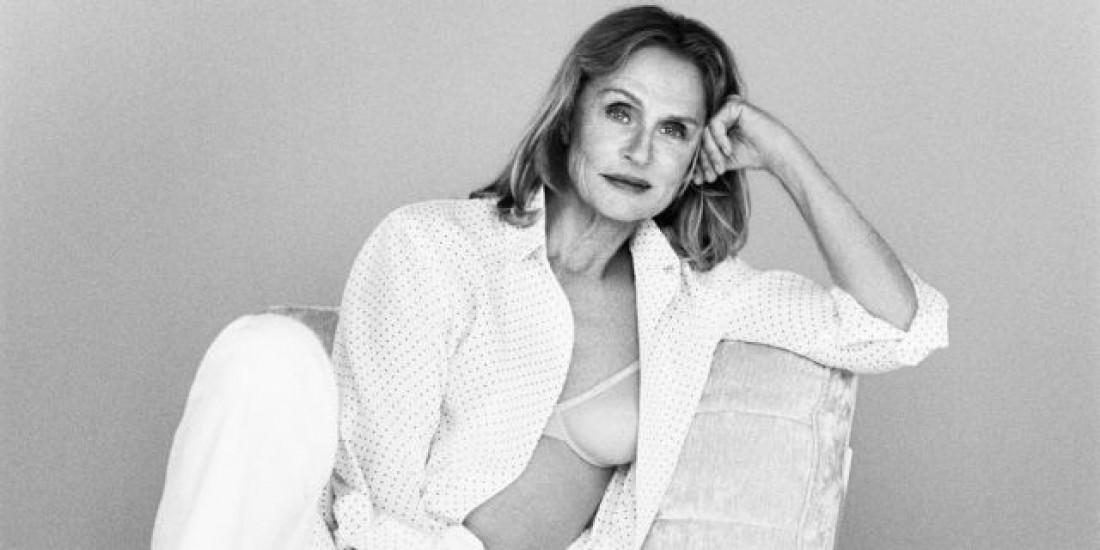 Лорен Хаттон снялась в кампейне Calvin Klein