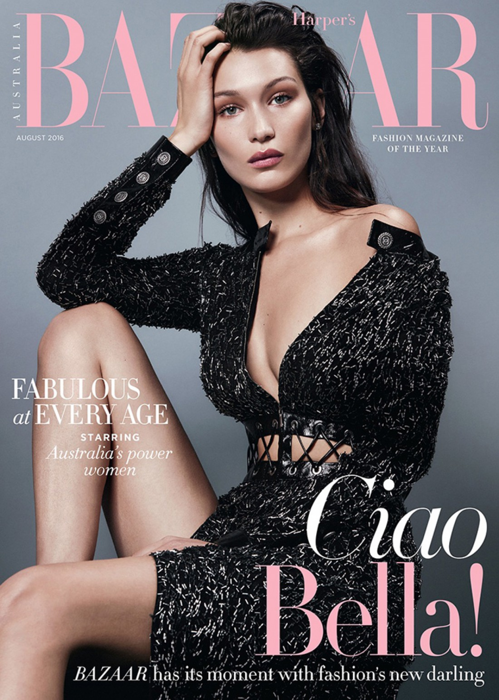 Белла Хадид на страницах Harper's Bazaar
