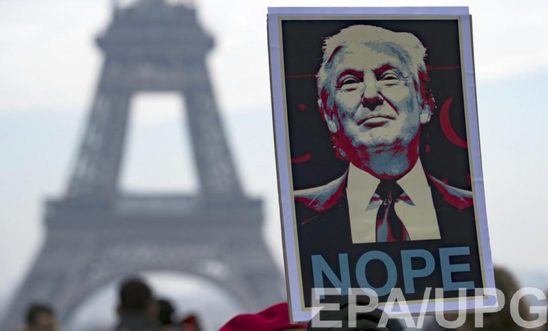Марш протеста во Франции, Париж