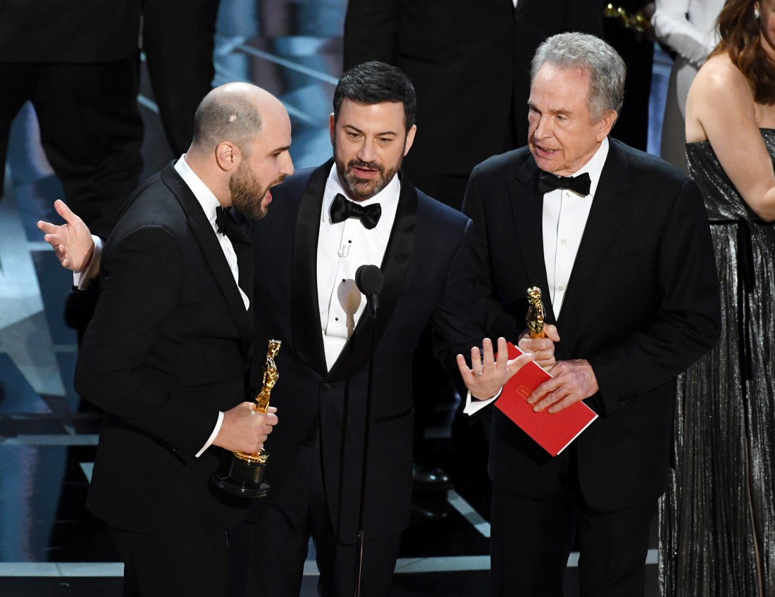 Оскар 2017: скандал на церемонии