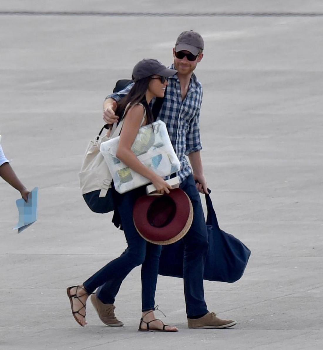 Принц Гарри и Меган Маркл в Ботсване