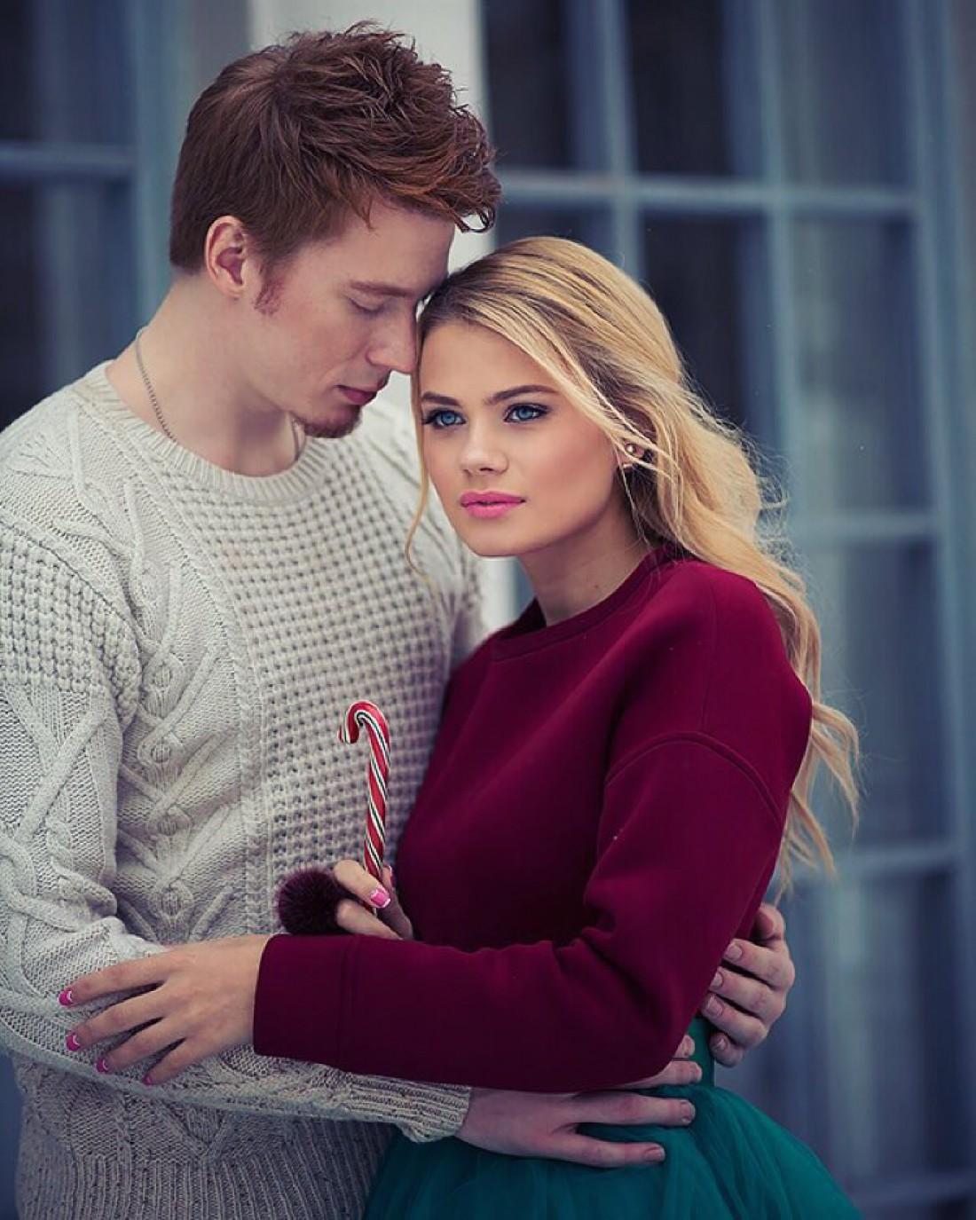 Фотосессия в свитере